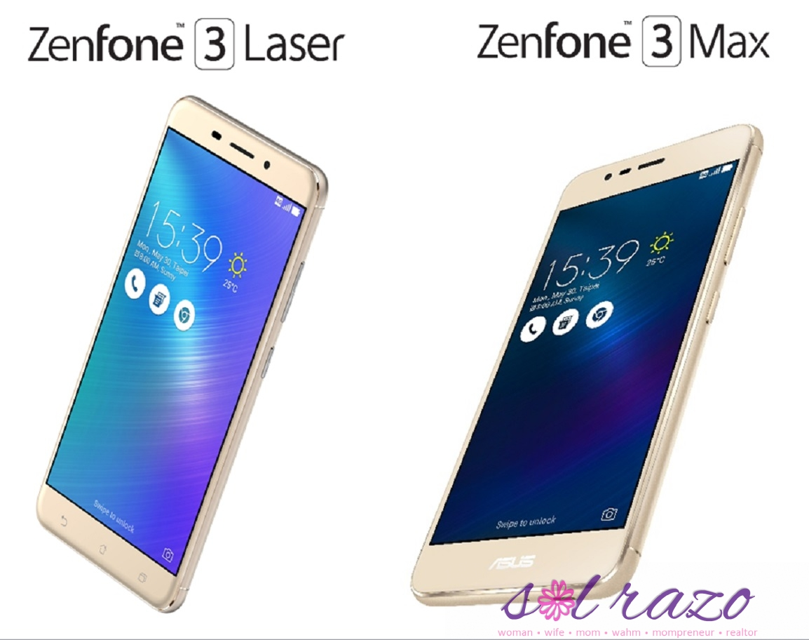 ZenFone 3 Laser and ZenFone 3 Max is arriving in Manila