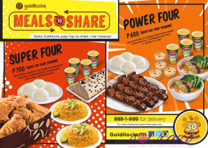 Goldilocks Meals to Share: Sharing is caring