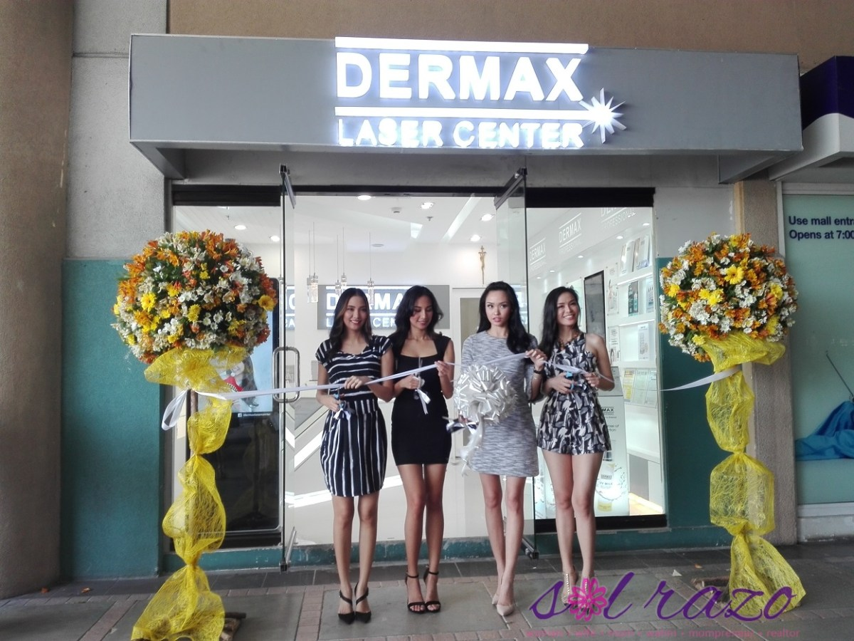 Dermax Alabang grand opening in Festival Mall