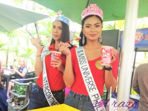 Maxine Medina gets first dibs on Dairy Queen's sweet holiday treats