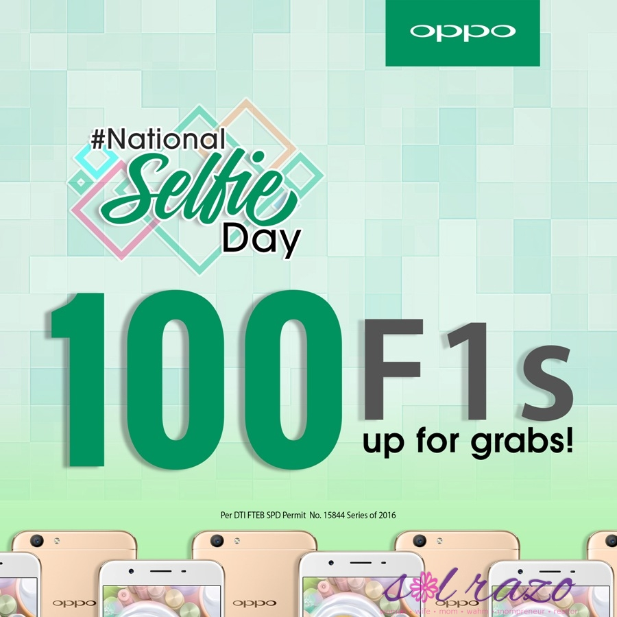 #SelfieExpert gives back via OPPO's #NationalSelfieDay Contest