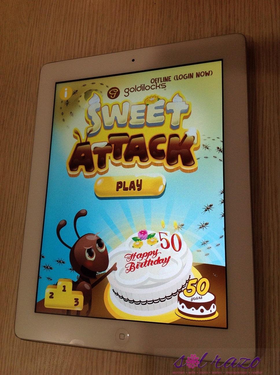 goldilocks sweet attack app
