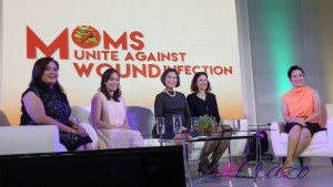 Kris Aquino, #FucidinMoms unite against wound infection