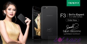 Sarah Geronimo turns 3 with OPPO, Sarah F3 phones now available