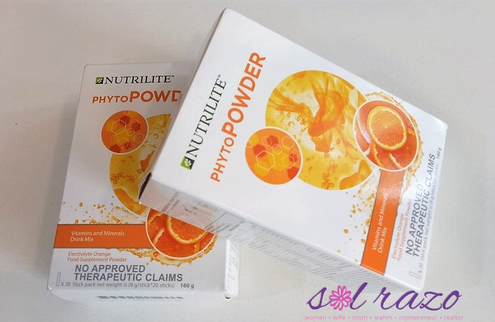 Amway S Nutrilite Phytopowder Provides 3 Benefits In A Single
