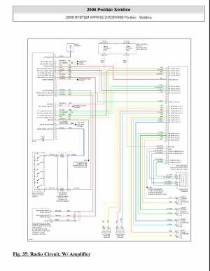 Monsoon AMP wiring diagram  Pontiac Solstice Forum