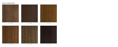 mesa extensible madera milo acabados Nogal