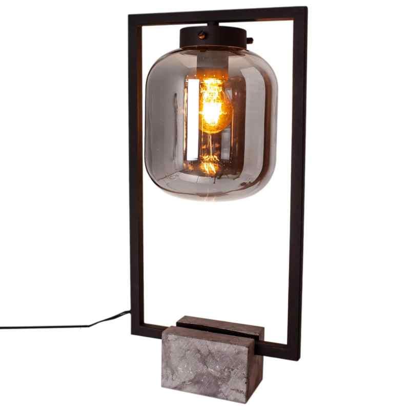 Lampe-de-table-rectangulaire