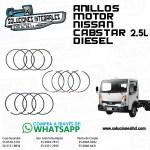 ANILLOS MOTOR NISSAN CABSTAR 2.5L DIESEL