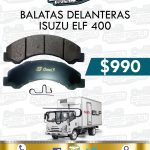BALATAS DELANTERAS ISUZU ELF 400