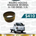 BALERO AGUJAS ENGRANE REVERSA H100 DIESEL 2.5L