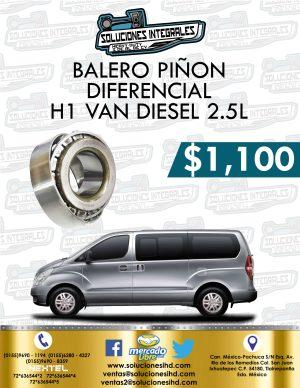 BALERO PIÑÓN DIFERENCIAL H1 VAN DIESEL 2.5L
