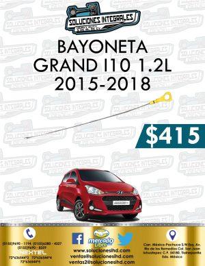 BAYONETA GRAND I10 1.2L 2015-2018