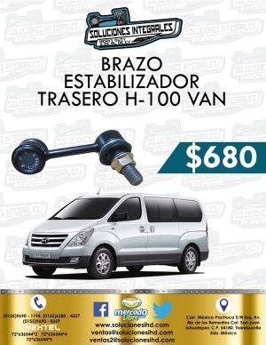 BRAZO ESTABILIZADOR TRASERO H1 VAN THETA 2.4L