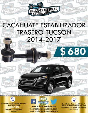 CACAHUATE ESTABILIZADOR TRASERO TUCSON 2014-2017