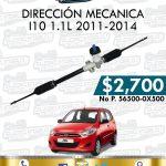 DIRECCIÓN MECÁNICA I10 1.1L 2010-2014
