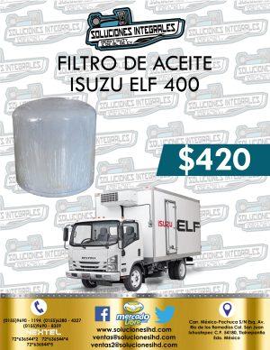 FILTRO ACEITE ISUZU ELF 400