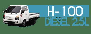 H-100 DIESEL 2.5L