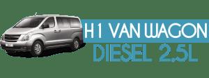 H1 VAN WAGON DIESEL 2.5L