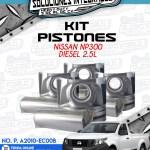 KIT PISTONES NISSAN NP300 2.5L DIESEL
