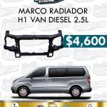 MARCO RADIADOR H1 VAN DIESEL 2.5L