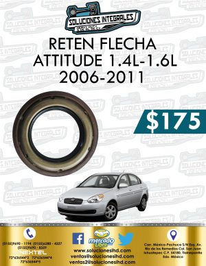 RETEN FLECHA ATTITUDE 1.4L-1.6L 2006-2011