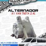 ALTERNADOR H1 VAN THETA 2.4L
