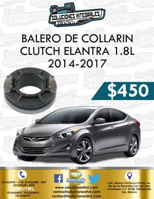 BALERO COLLARÍN CLUTCH ELANTRA 1.8L 2014-2017