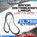 BANDA DISTRIBUCIÓN LARGA L200 2.5L DIESEL