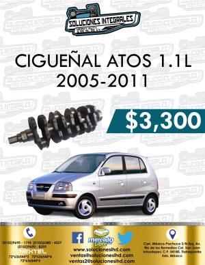 CIGUEÑAL ATOS 1.1L 2005-2011