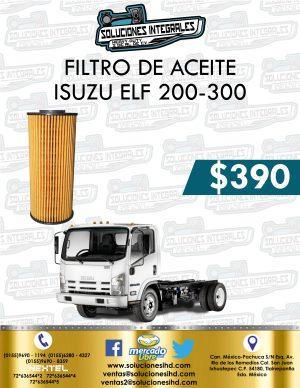 FILTRO ACEITE ISUZU ELF 200 Y 300