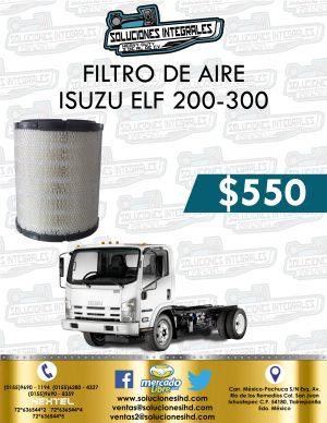 FILTRO AIRE ISUZU ELF 200 Y 300