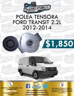 POLEA TENSORA FORD TRANSIT 2.2L 2012-2014