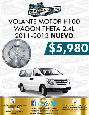 VOLANTE MOTOR H1 VAN THETA 2.4L