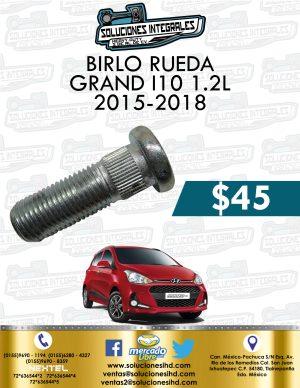 BIRLO RUEDA GRAND I10 1.2L