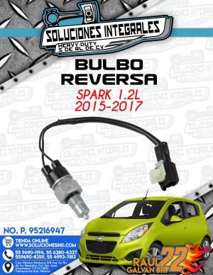 BULBO REVERSA SPARK 1.2L 2015-2017