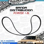 BANDA DISTRIBUCIÓN POINTER 1.8L