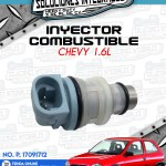 INYECTOR COMBUSTIBLE CHEVY 1.6L