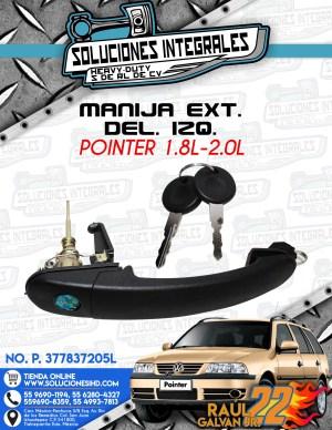 MANIJA EXT. DEL. IZQ. POINTER 1.8L-2.0L