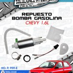 REPUESTO BOMBA GASOLINA CHEVY 1.6L