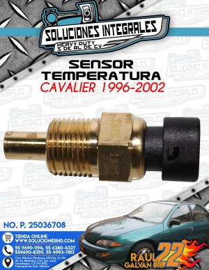 SENSOR TEMPERATURA CAVALIER 1996-2002