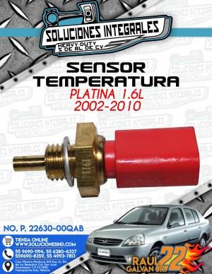 SENSOR TEMPERATURA PLATINA 1.6L 2002-2010