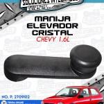 MANIJA ELEVADOR CRISTAL CHEVY 1.6L