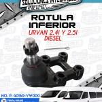 ROTULA INFERIOR URVAN 2.4L Y 2.5L DIESEL