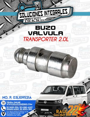 BUZO VÁLVULA TRANSPORTER 2.0L