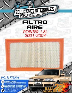 FILTRO AIRE POINTER 1.8l 2001-2004