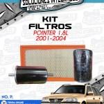 KIT FILTROS POINTER 1.8l 2001-2004