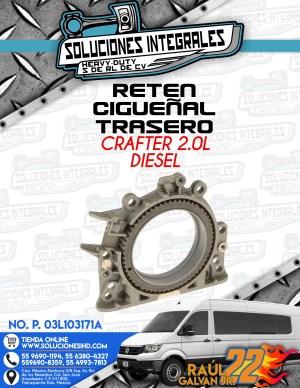 RETEN CIGUEÑAL TRASERO CRAFTER 2.0L DIESEL
