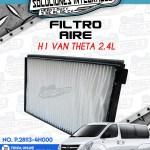 FILTRO AIRE H1 VAN THETA 2.4L