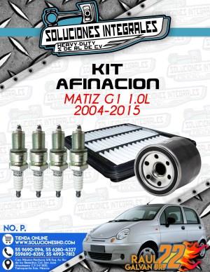 KIT AFINACIÓN MATIZ G1 1.0L 2004-2015